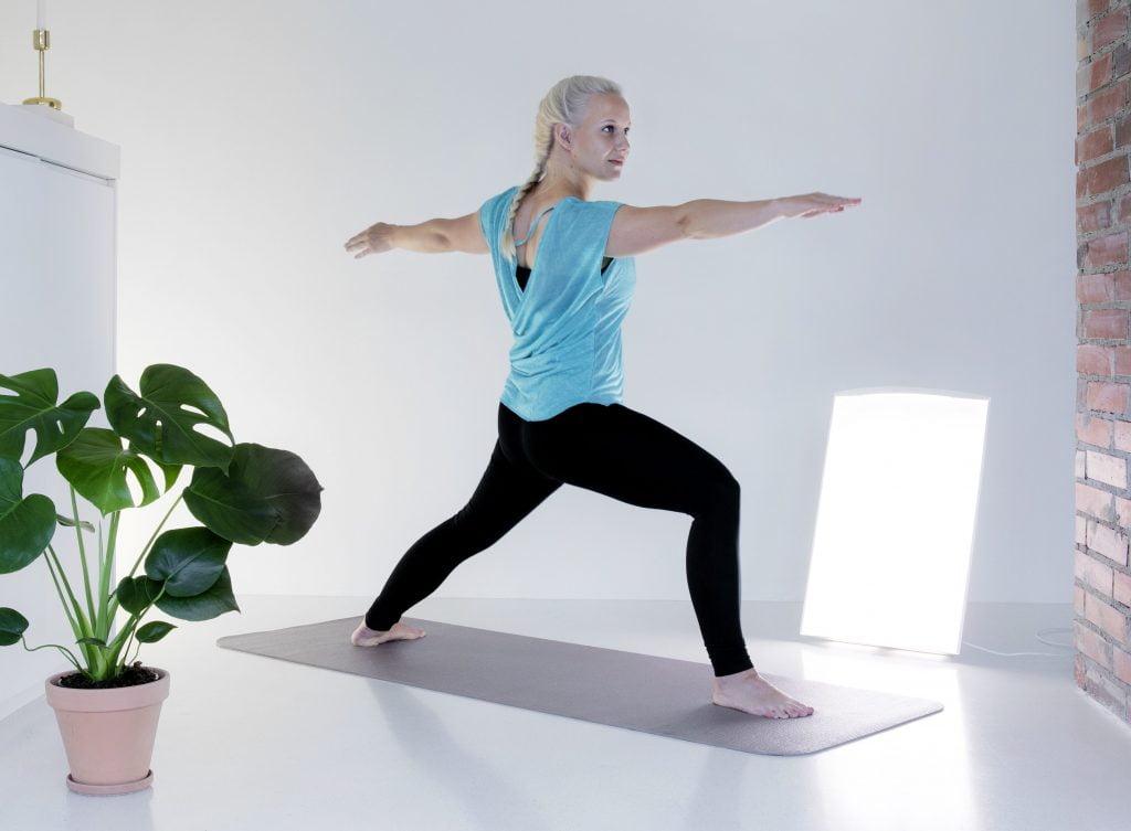 Lampa antydepresyjna Innolux Supernova - fototerapia podczas gimnastyki