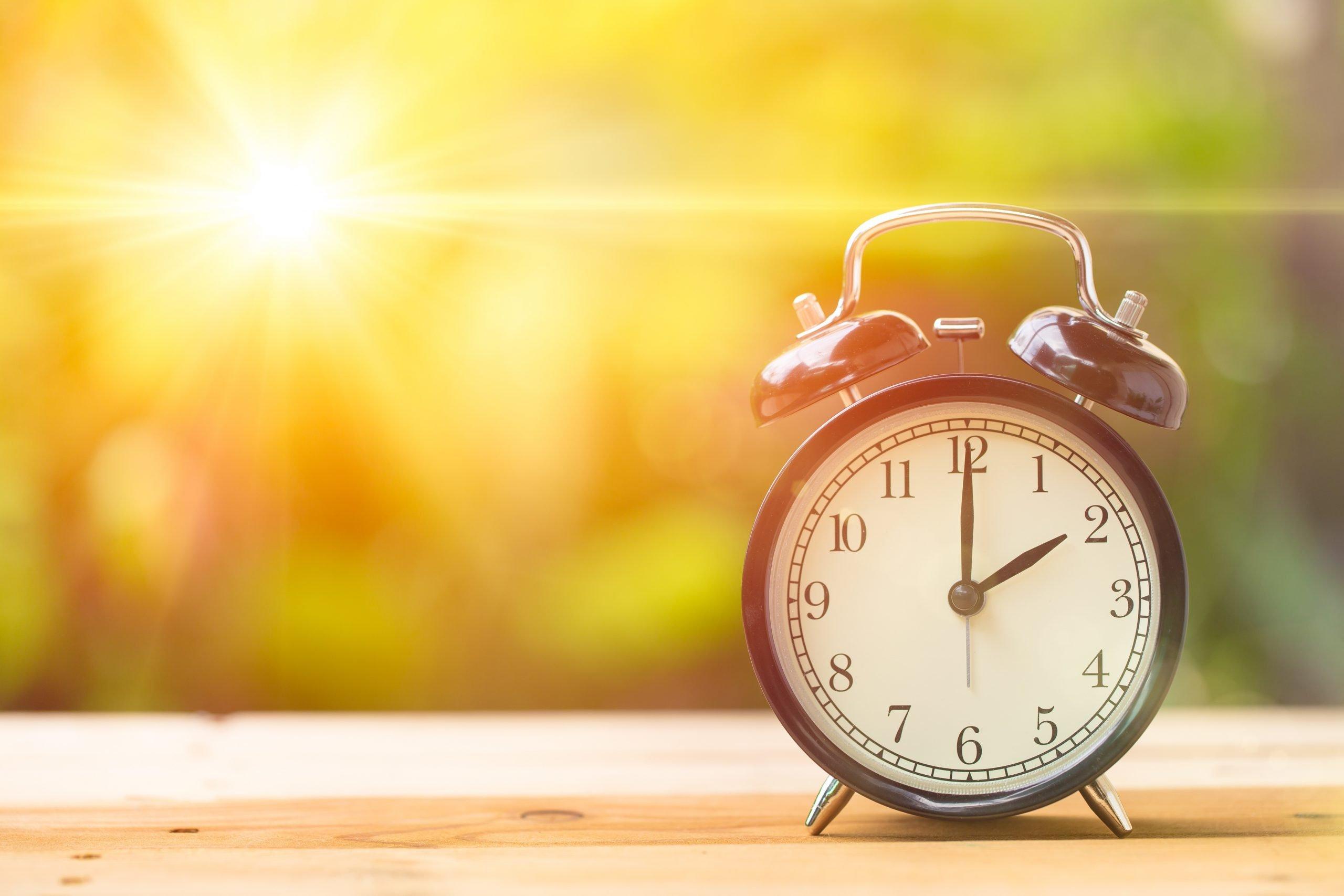 Światłoterapia - w jakich godzinach?