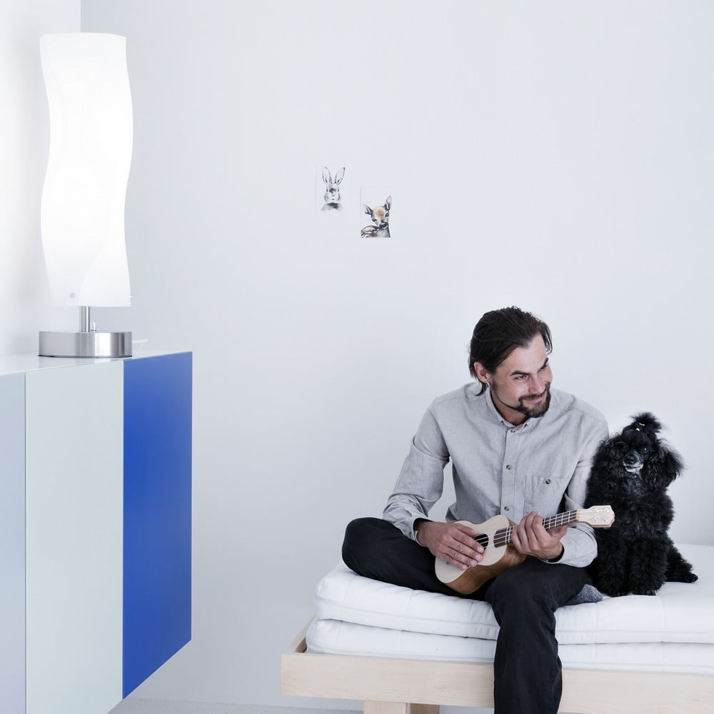 Innolux Aurora - aranżacja lampy w sypialni