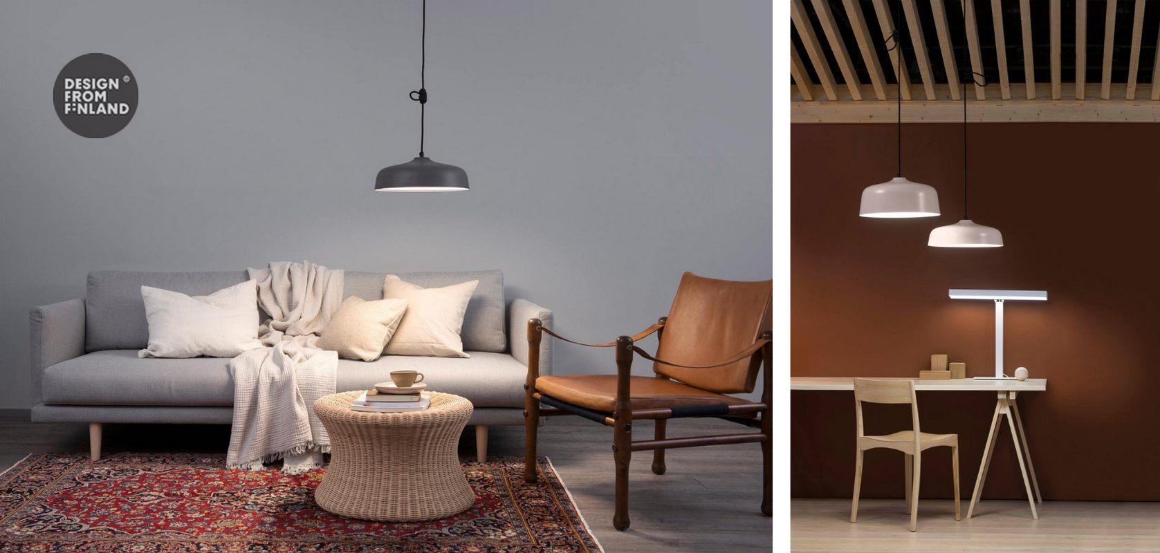 Lampy Innolux Candeo Air - aranżacje w salonie i gabinecie