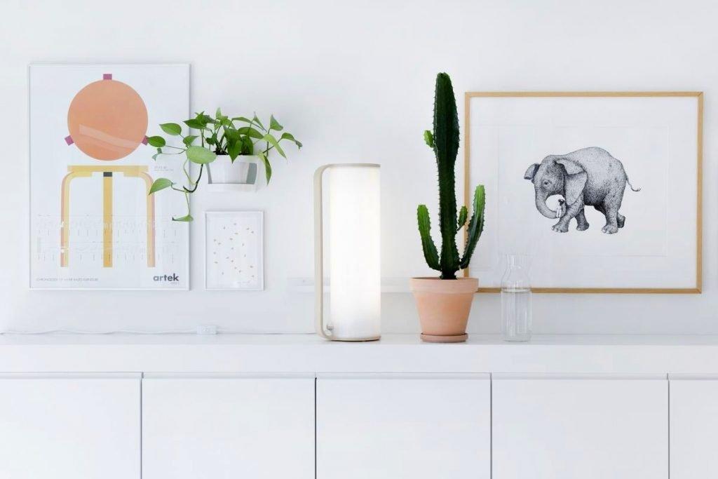 Innolux Tubo LED - aranżacja lampy we wnętrzu w stylu skandynawskim