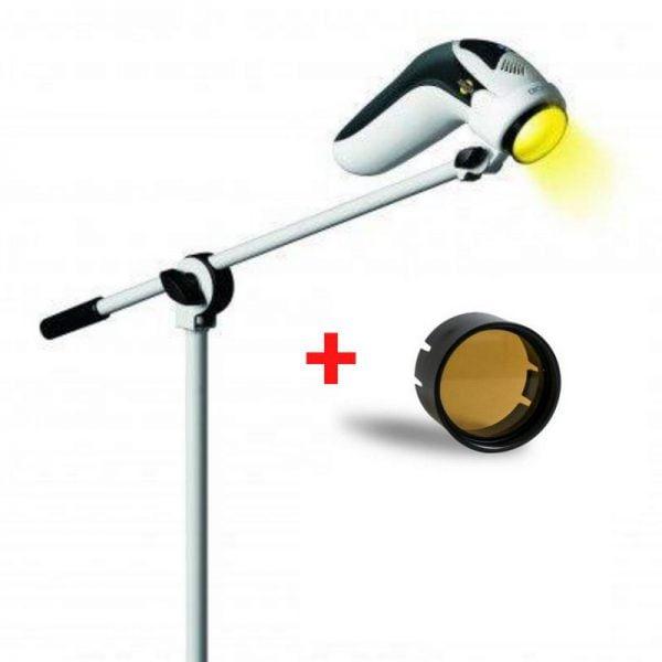 Lampa Bioptron MedAll ze statywem + Filtr fulerenowy