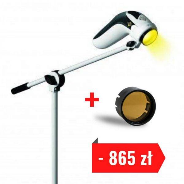 Lampa Bioptron MedAll ze statywem i filtrem fulerenowym