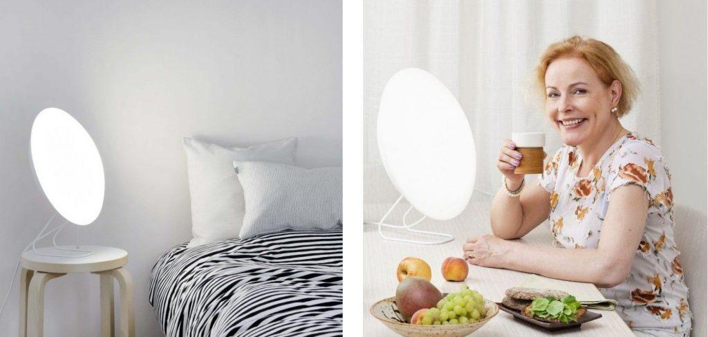 Innolux Rondo 400 LED - aranżacja lampy w sypialni i jadalni