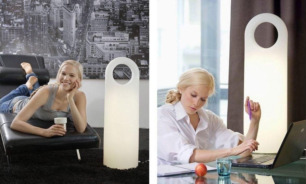 Lampa Innolux Origo - fototerapia w biurze