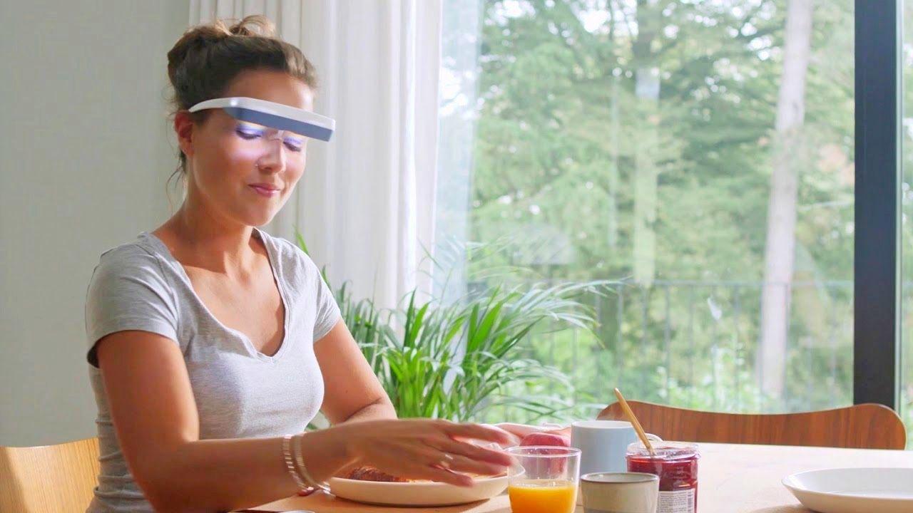 Okulary do światłoterapii Luminette 3 zapewniają pełną mobilność